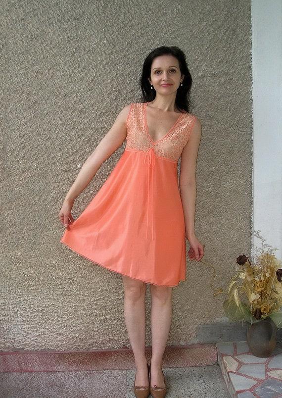 Vintage Slip Nightgown Size S-M