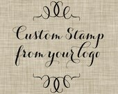 Custom Stamp from your logo -- Perfect for the shop owner