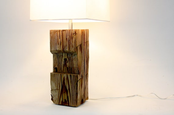 Items Similar To Reclaimed Wood Lamp Barn Wood Lighting