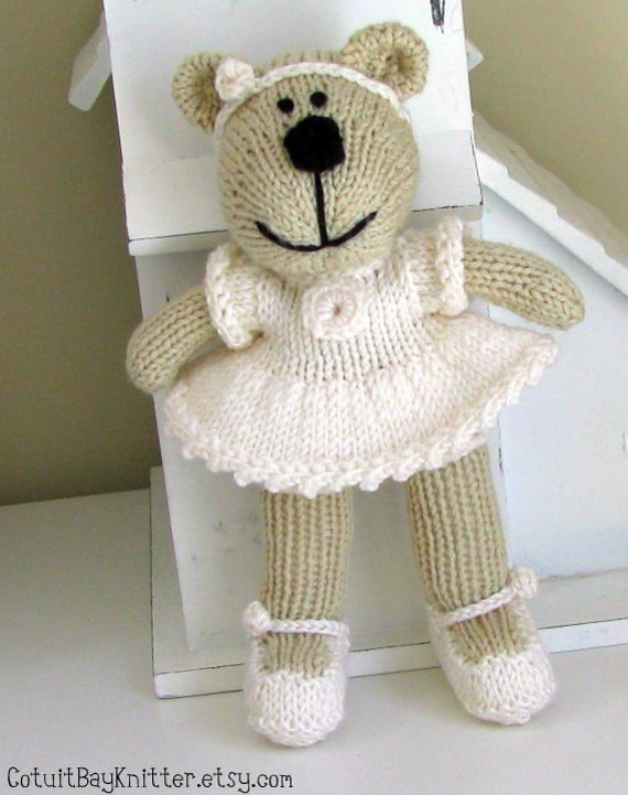 Flower Girl Baskets Sydney : Flower girl gift bear custom hand knit