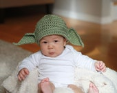 PDF Pattern 4 Character Inspired Crochet Hat for Baby - TCY002