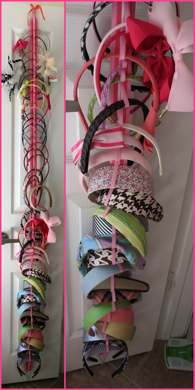 Hanging Headband Organizer With Elastic 342 Color