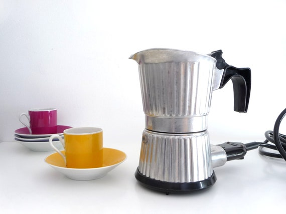 Italian Coffee Maker Electric : RESERVED Vintage Electric Coffee Maker Percolator Italian
