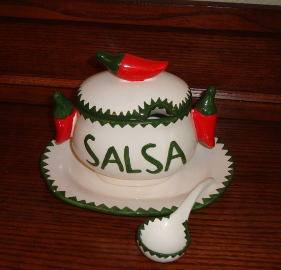 Salsa Dip Bowl