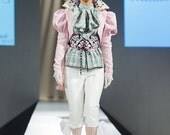 RESERVED - Jacket w. Tails - Pink Dandy