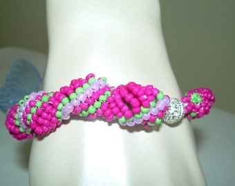 Spiral Twist Bracelet