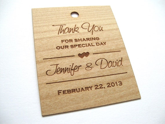 Wedding Favor Tags Uk : Gift Tags, Wooden Tags, Wedding Favor Tags, woodHang Tags, Wood tags ...