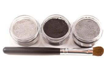 4pc BLACK TIE Mineral Eye Shadow Set