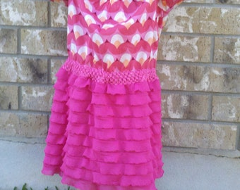 GIRL RUFFLE DRESS