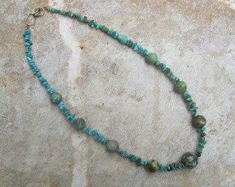 Rivers Edge Natural Turquoise Beaded Necklace
