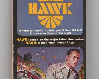 Burt Reynolds Hawk Tv Series 1960s Novel Vintage