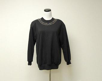 SALE!!! . PREDICTIONS black sweater . medium to large