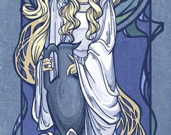 Galadriel Nouveau Small Print (Item 03-016-AA)