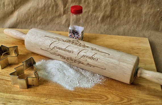Personalized rolling pin