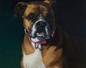 Reserved for Jeremy - Custom Dog Portrait - Half Deposit