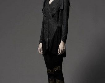 SALE - Black Shirt  in Print