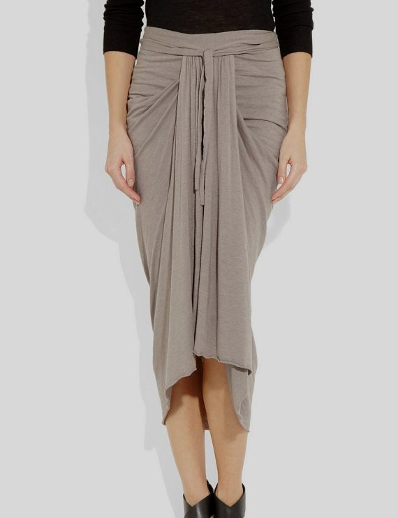 ruched jersey midi skirt draped skirt the knee plus