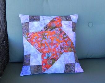 Far-flung Pinwheel Pillow Cover