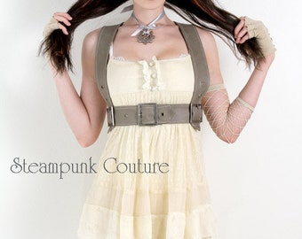 8x10 Signed Steampunk Couture Harness Print
