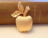 Vintage Avon Apple Brooch Pin
