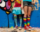 Graffiti Park and Rainbow Socks - Austin - 8x10 - fine art photography