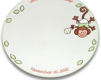 My Little Monkey Baby Shower Signature Platter