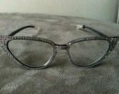 Vintage Cat Eye Glasses/Frames, 1950's