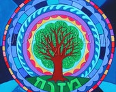 Art Print / Tree of Life Mandala-Print Reproduction