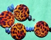 Cheetah Blue Bracelet