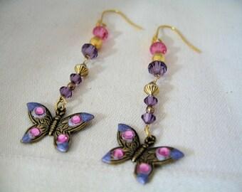 Butterfly Duo Earrings by Diana