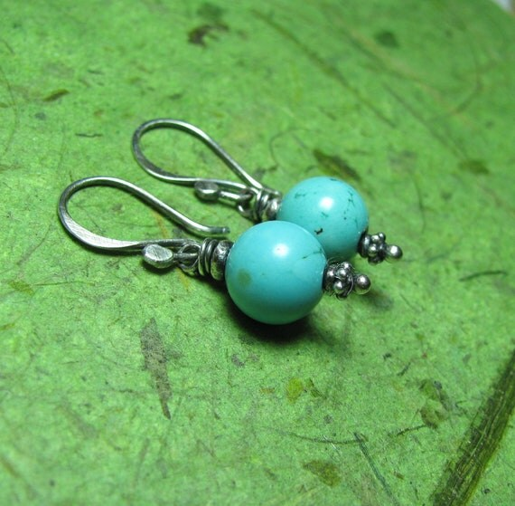 Sundance - Turquoise and Sterling Silver Earrings
