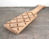 Wooden Pottery Paddle
