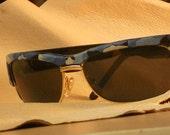 "Mens Custom Painted ""Camouflage Pattern""  Sunglasses"