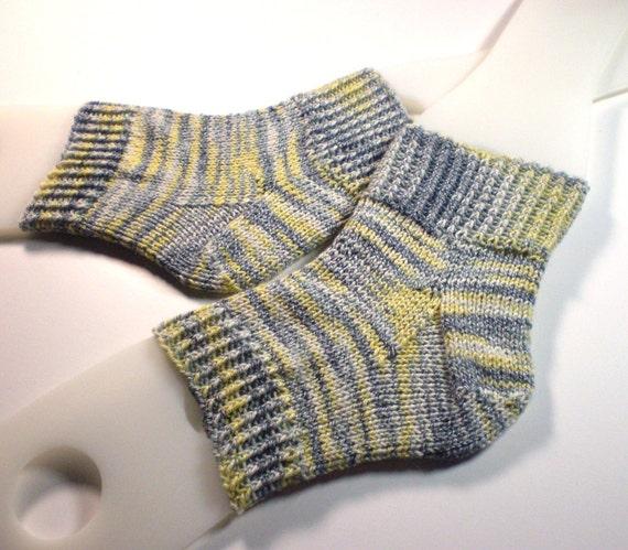 Toeless pedi socks ... Hand knit flip flop socks ... Cotton