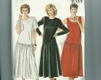 New Look Misses' Dress Pattern 6384