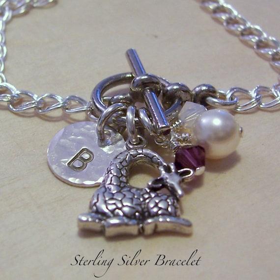 Petite Giraffe Charm Bracelet