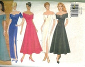 1995 Butterick Misses DRESS Gown Sewing PATTERN size12 to  16