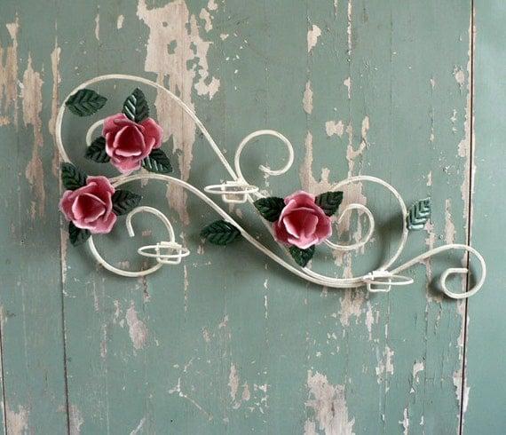 Metal Floral Wall Hanging