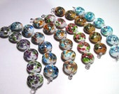 6 sets of Lampwork Glass Beads for einnoc only - Custom Order