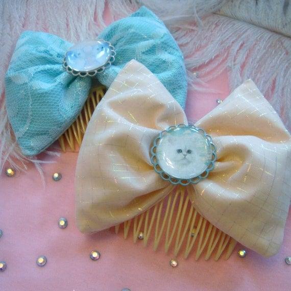 Pastel Persians Hair Bows