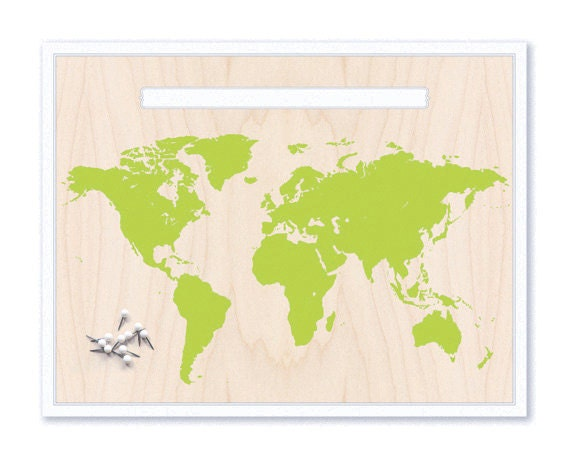 World Map & Pin Set. Push Pin Travel Map. World Map. Personalized Map. Travel Map. Map Art. Custom Map. Inspirational Map. Mounted Map. Gift