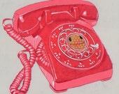 happyphone - original painting - art