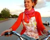 SALE Bicycle tshirt-printed illustration of vintage bicycles