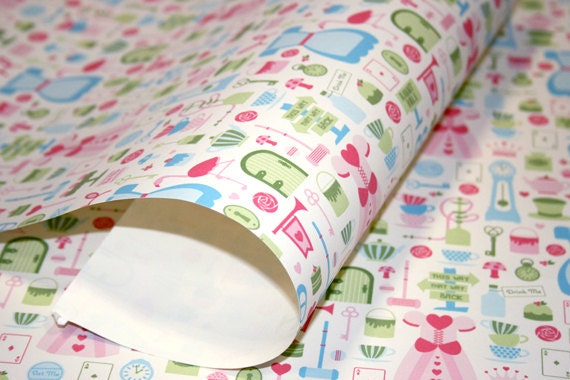 We're All Mad Here Wrapping Paper