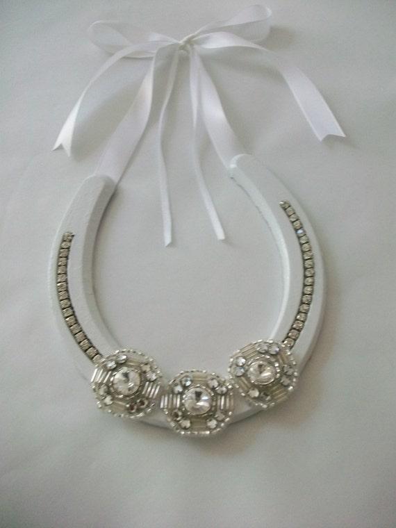 Wedding Horse Shoe Ring Holder