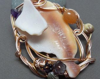Mermaid Crown Necklace