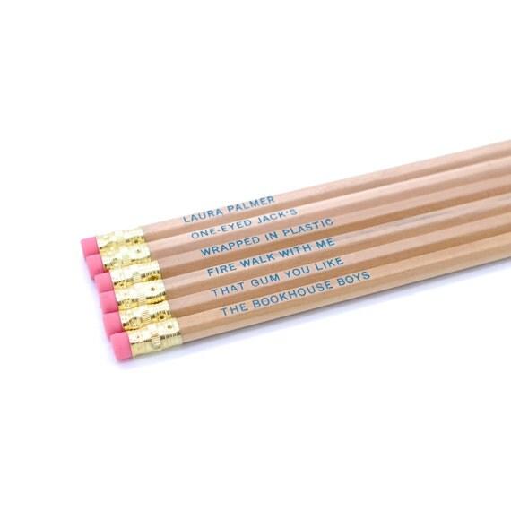 Twin Peaks 2  Pencil Set