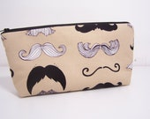 Large Stand up Style Cosmetic Zip Pouch