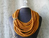 The Lasso by Fringe in orange marmalade - Ready to Ship