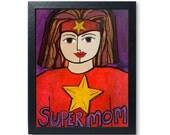 Supermom Print - Superher...